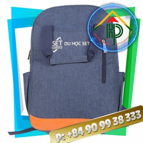 Blue Laptop Backpack