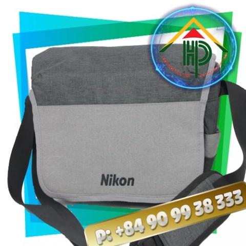 Grey Nikon Camera Bag
