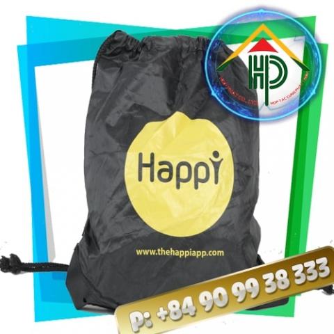 Happy Drawstring Backpack