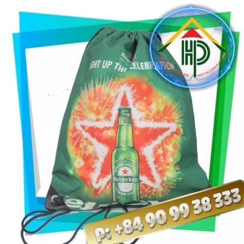 Heineken Drawstring BackpackHeineken Drawstring Backpack