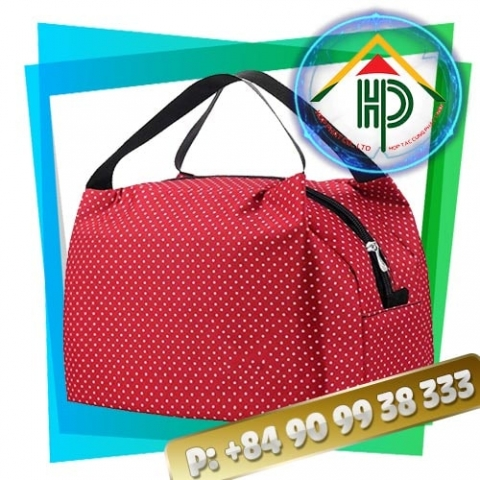 Red Dot Lunch Bag