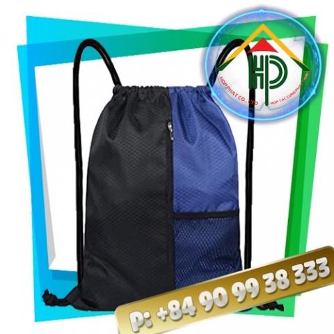 Image of Drawstring Backpack Men