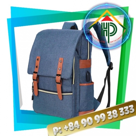 Laptop Backpack With Charger