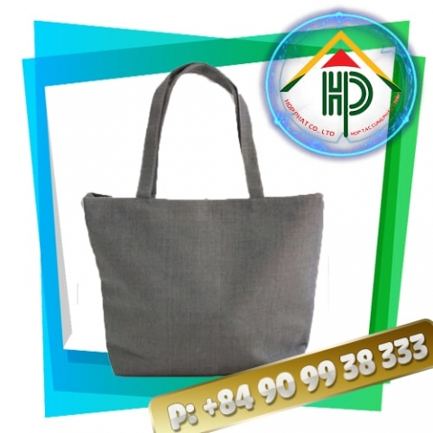 Canvas Bag Gray