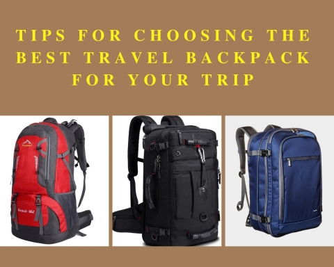 Tips For Choosing The Best Travel Backpack For Your Trip