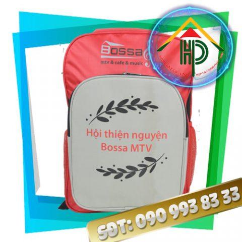 Balo Quảng Cáo Hội Thiện Nguyện Bossa