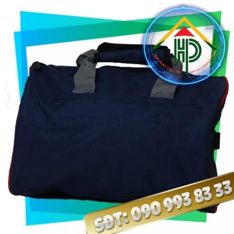 Túi xách du lịch vải bố màu xanh đậm
