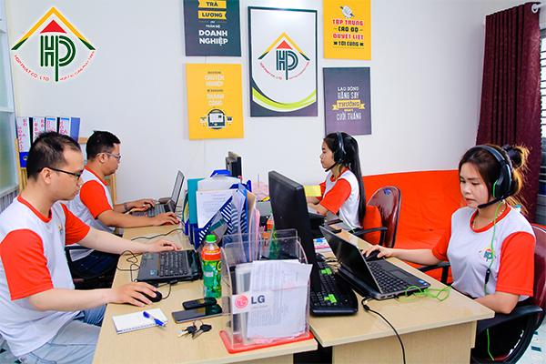 Hình ảnh văn phòng của công ty Hợp Phát