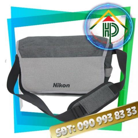 Túi đựng máy ảnh Nikon màu xám