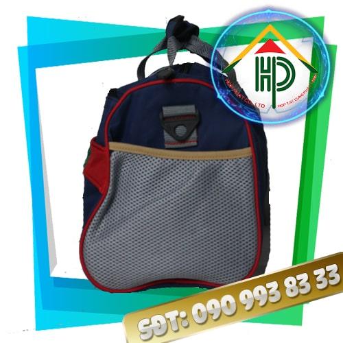 Túi xách du lịch Uniqlo mặt hong