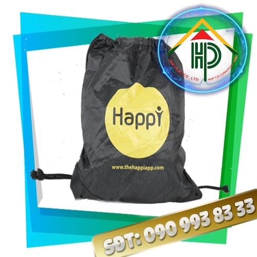 Thông tin chung về balo dây rút Happy và Heniken