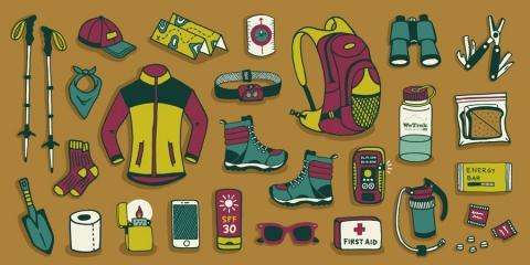 Những đồ dùng cần thiết khi đi leo núi