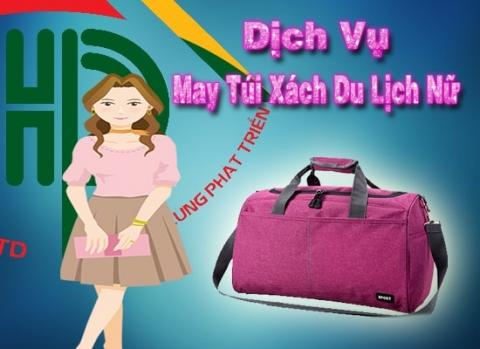 dịch vụ may túi xách du lịch cho nữ