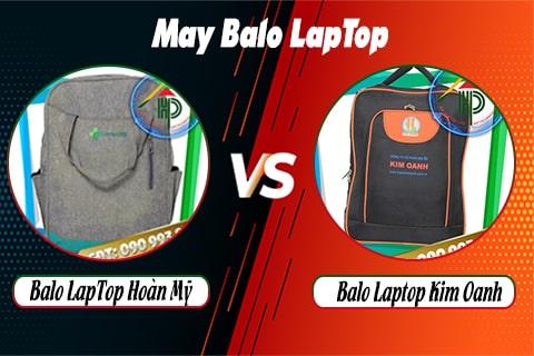 so sánh balo laptop kim oanh và balo laptop hoàn mỹ
