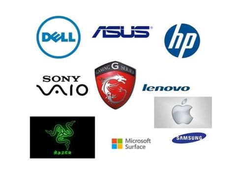 thương hiệu laptop nổi tiếng