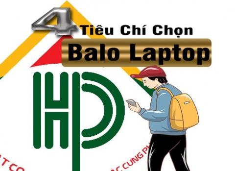 tiêu chí để chọn balo laptop tốt