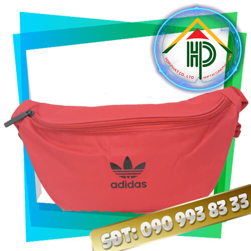 Túi Đeo Chéo Adidas Đỏ