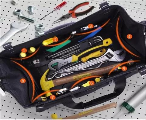túi đựng đồ dụng cụ điện