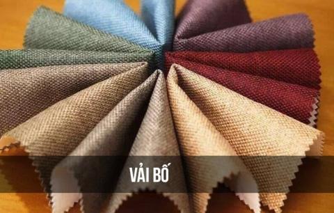 Vải bố có trọng lượng nhẹ và sợi vải bền chắc