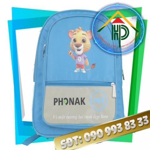 Balo trẻ em Phonak mặt sau