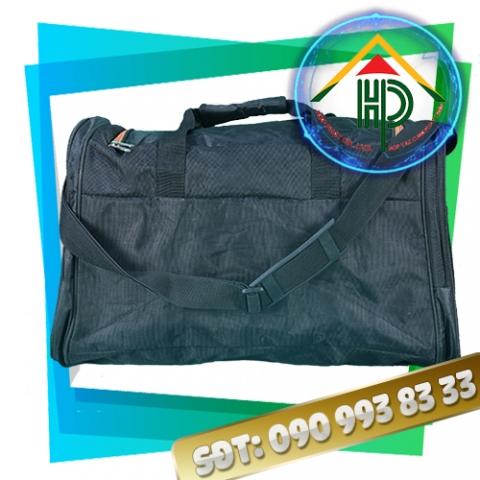 Túi xách du lịch vải bố đen