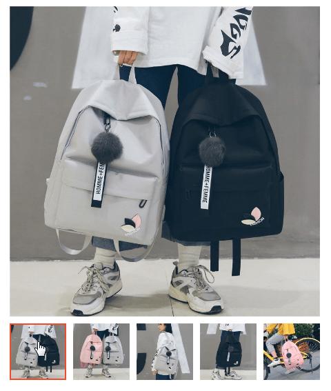 Balo học sinh cấp 2 cấp 3 Style Hàn Quốc