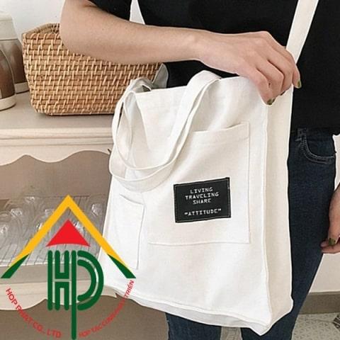 Lợi ích của túi canvas mang lại cho người dùng