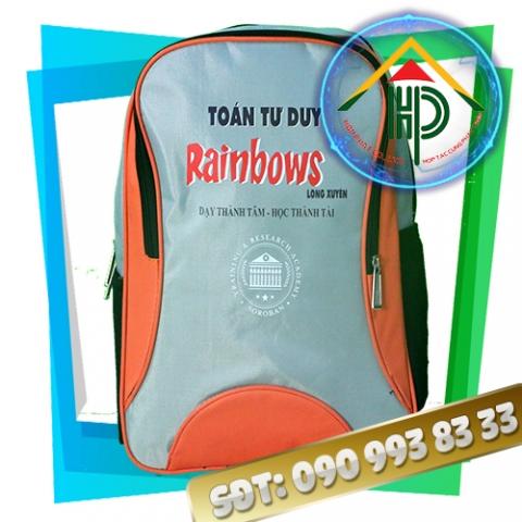 Mặt trước Balo quà tặng Rainbows