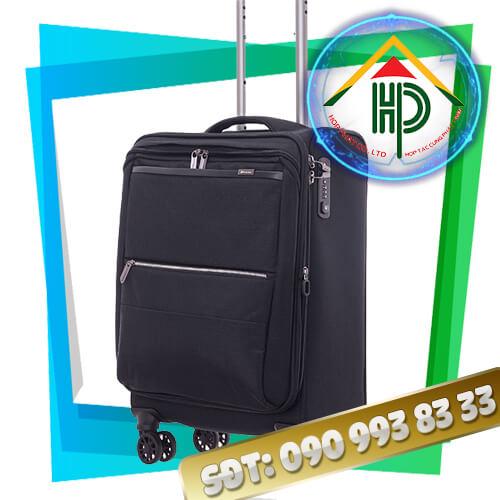 May vali kéo màu đen
