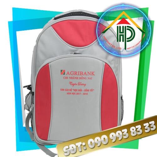 balo quảng cáo Agribank