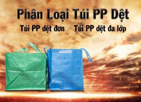 phân loại túi pp dệt
