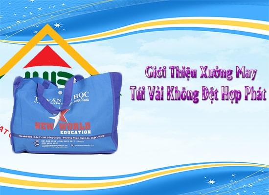 Hợp Phát công ty sản xuất túi vải không dệt uy tín nhất tại Hà Nội