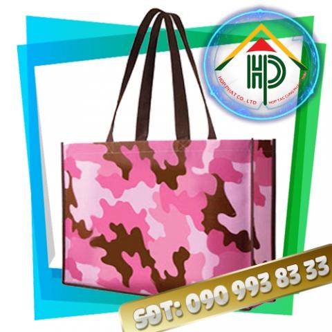 Túi vải PP dệt họa tiết