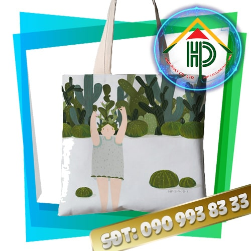 Túi Vải Canvas Thời Trang