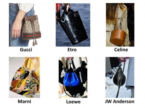 Túi xách tay hình xô chuẩn trend