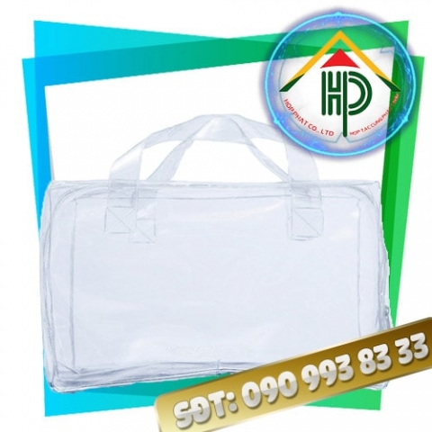 Túi PVC Ép Nhiệt Đựng Mỹ Phẩm