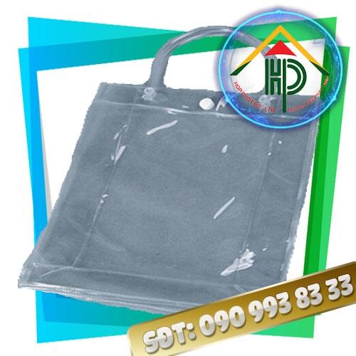 Túi PVC Ép Nhiệt Có Nút Bấm
