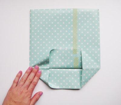 Cách làm túi xách bằng giấy đơn giản trong vòng một nốt nhạc