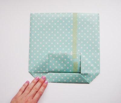 làm túi xách bằng giấy