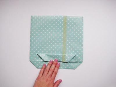Gấp túi xách bằng giấy