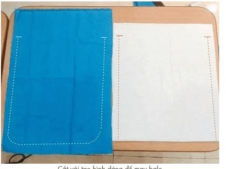 cách may balo bằng vải nỉ