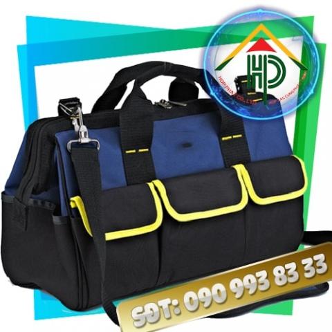 Túi đựng dụng cụ xanh phối đen