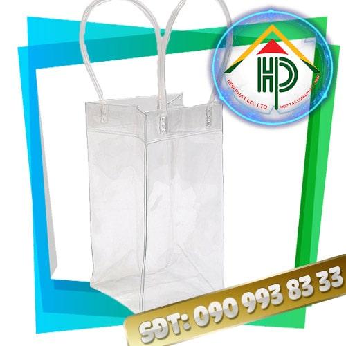 Túi PVC Ép Nhiệt Hình Trụ