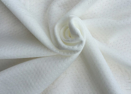 Vải polyester trắng