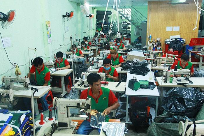 tuyển dụng thợ may túi vải không dệt tại May Hợp Phát