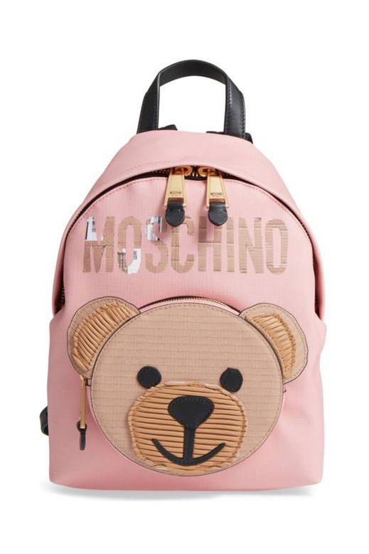 Balo mini gấu hồng Chibi