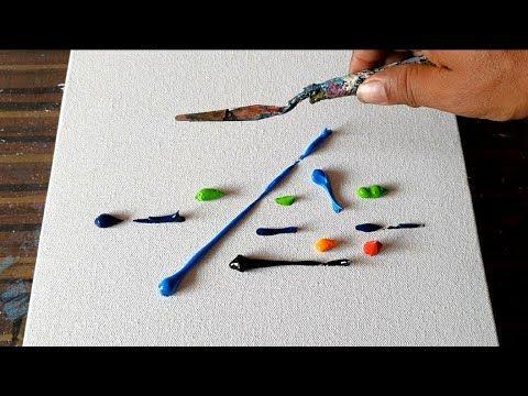 dao trộn bảng màu