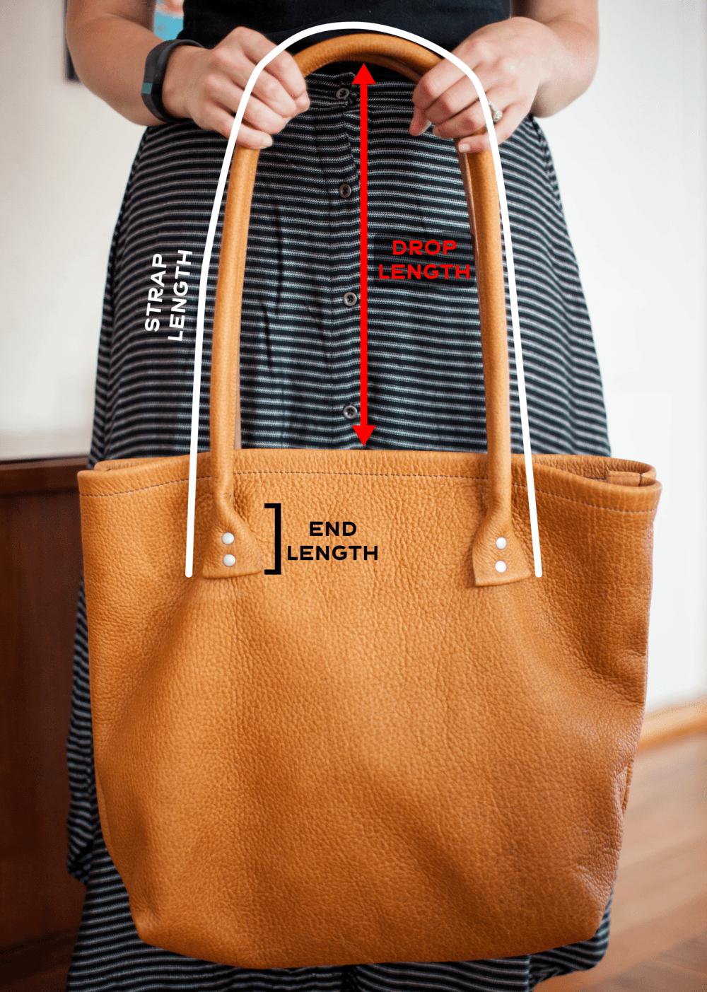 cách tính các kích thước túi xách