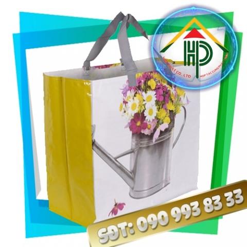 Túi PP dệt chậu hoa