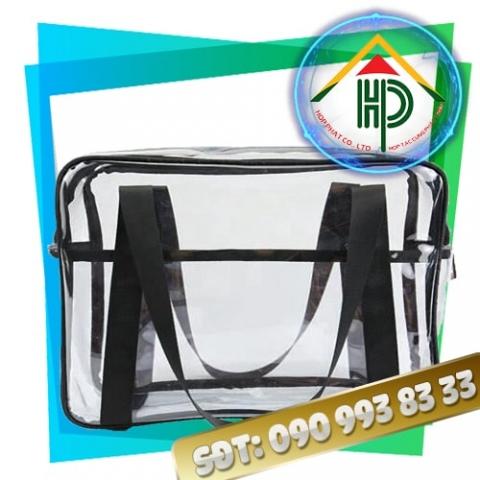 Túi Nhựa PVC Có Dây Kéo